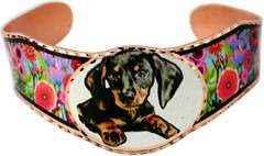 Dog Jewelry Dachshund Puppy Bracelet