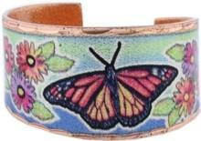 Colorful Monarch Butterfly Rings