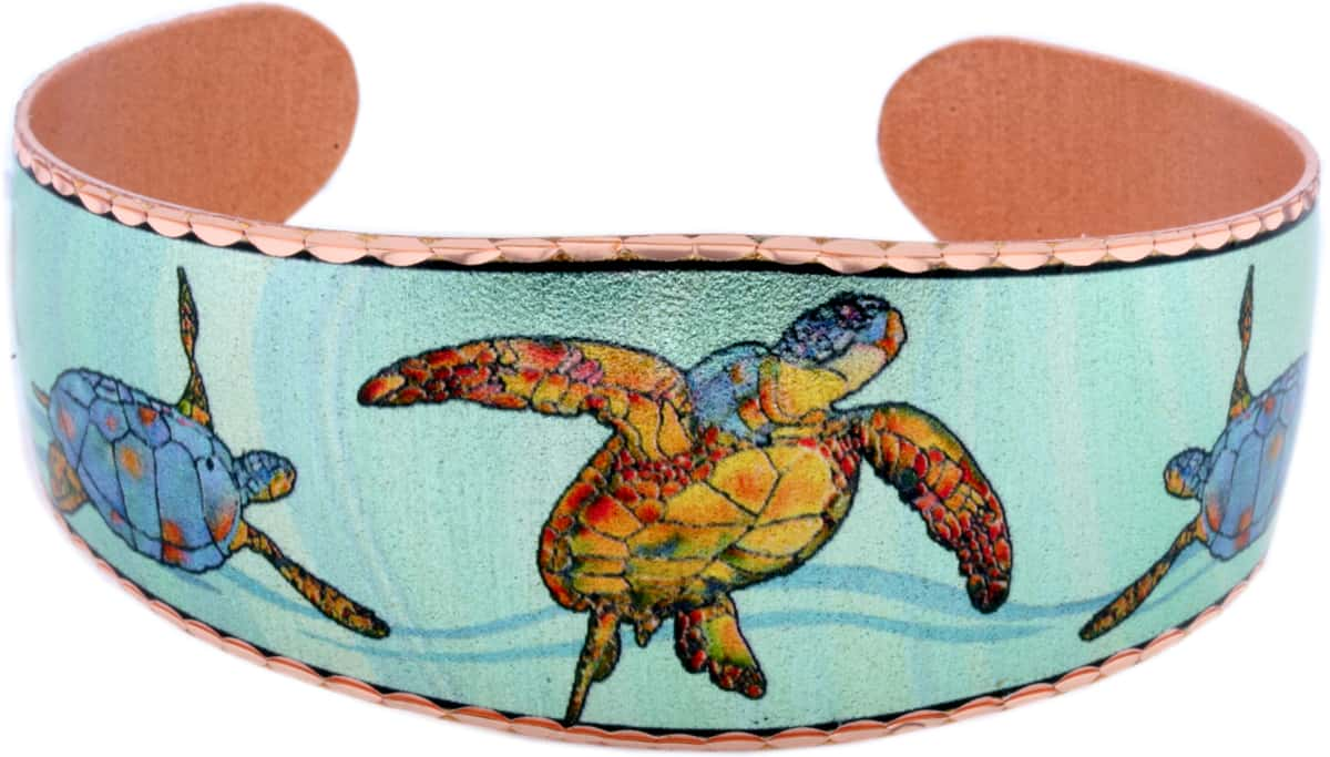 Colorful Sea Turtle Bracelets