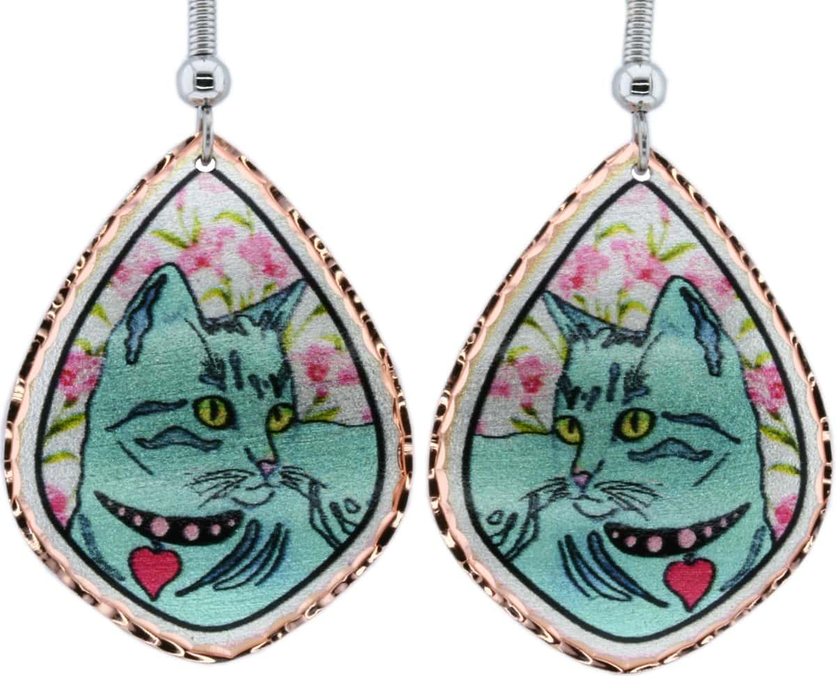 Cat Earrings Designed by Jo Lynch