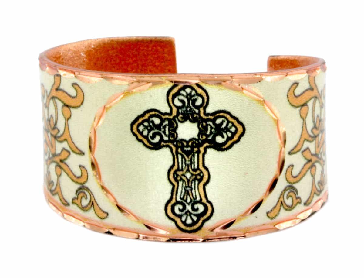 Cross Handmade Copper Rings