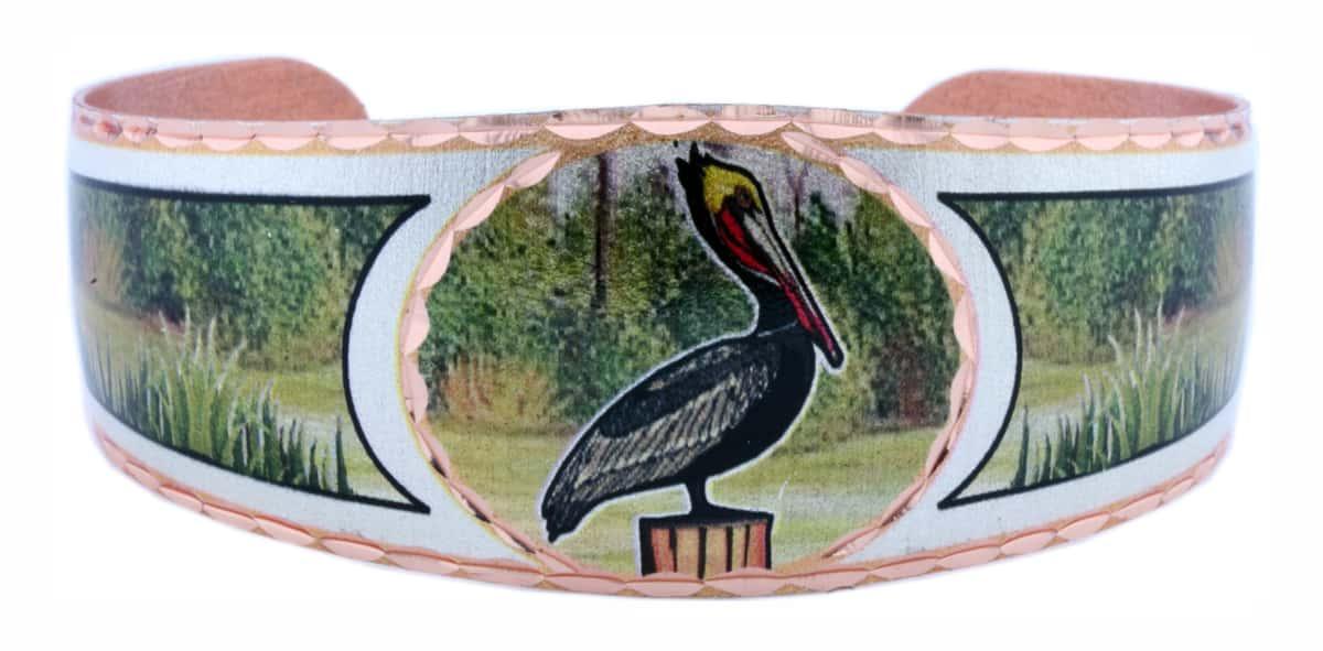 Louisiana Pelican Bracelets
