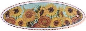 Sunflowers Hair Clips by Van Gogh