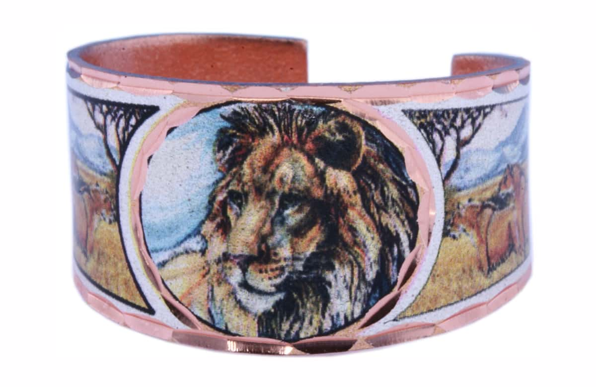 Colorful Lion rings