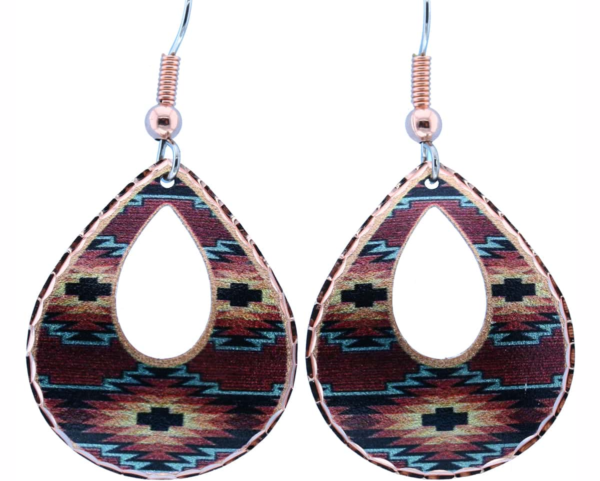 Teardrop SW Native Earrings