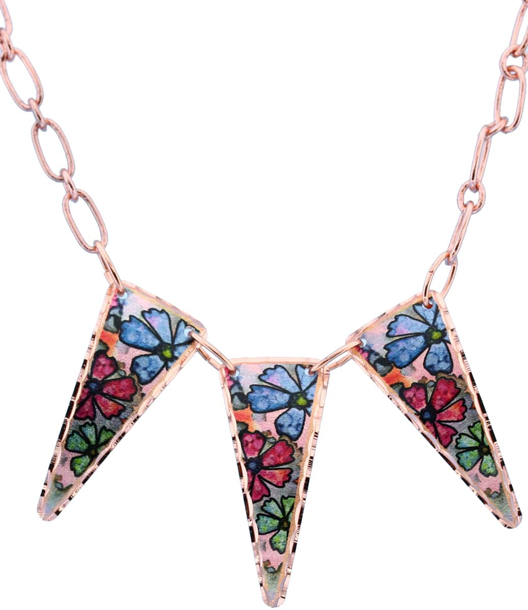 Colorful Flower Necklaces