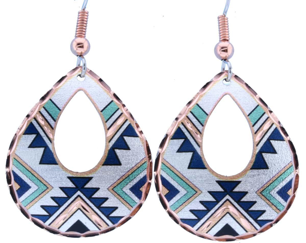 Teardrop Native American Earrings