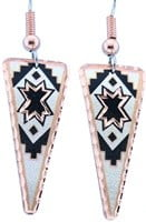 Triangle Native Star Earrings