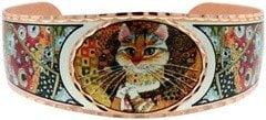 Gustav Klimt Cat Bracelet