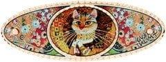 Painter Gustav Klimt's Cat Katze Hair Clips