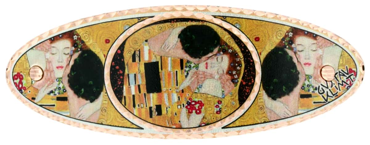 Gustav Klimt The Kiss Hair Clips