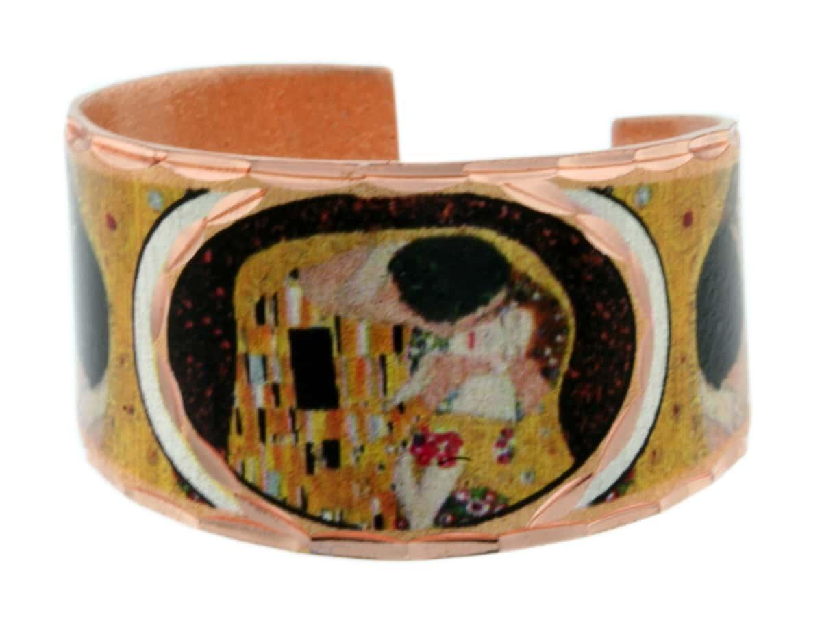 Gustav Klimt The Kiss Rings