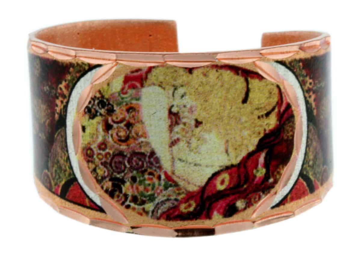 Painting Danae by Gustav Klimt Rings