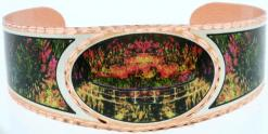 Claude Monet Water Lilies Japanese Bridge Bracelets BMO-05