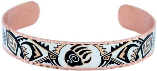 Native Bear Paw Copper Cuff Bracelet BSN-40