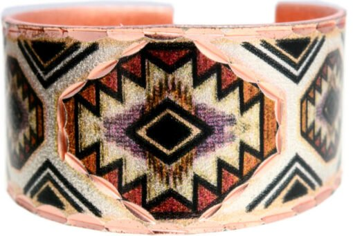 Southwestern Native American Rings Handcrafted in Colorful Artwork