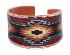 Burgundy & Turquoise Native Rings RBN-19