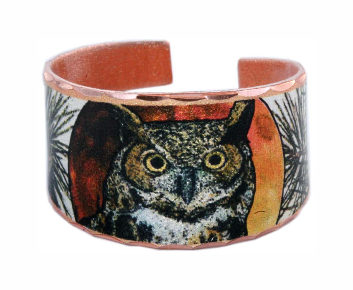 Great Horned Owl Ring RC-62