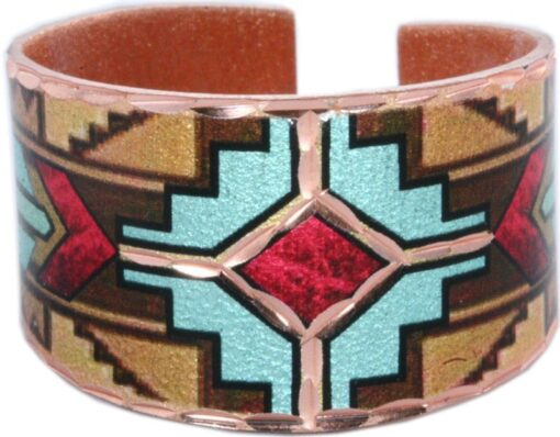 SW Native American Copper Ring RC-14