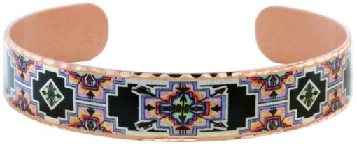 Alcohol ink art Native American bracelets BYN-32