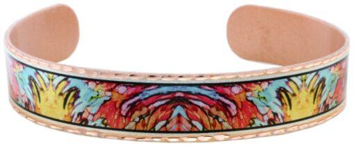 Alcohol ink jewelry bracelet BYN-36