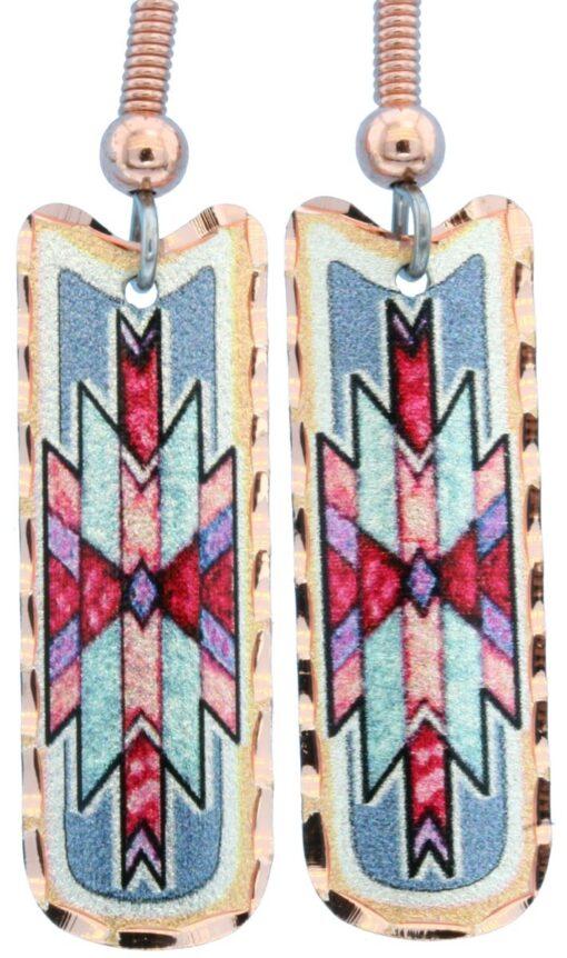 Dainty Southwestern Native earrings LD-358